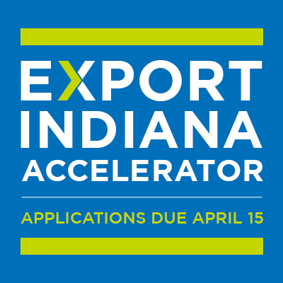 Applications are now open for the 2020 Export Indiana Accelerator!