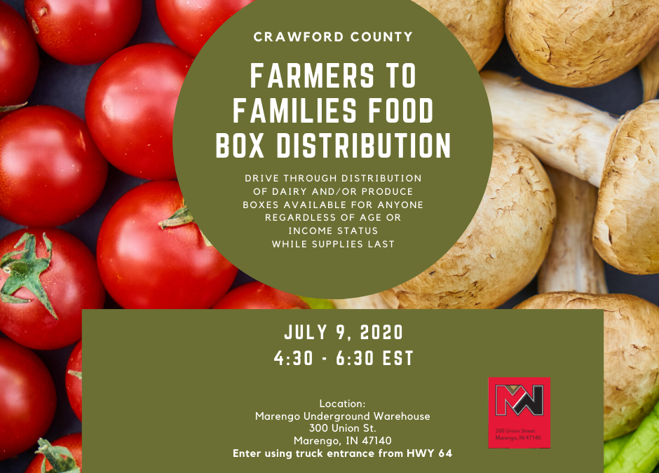 Farmers are helping to feed families in Crawford County