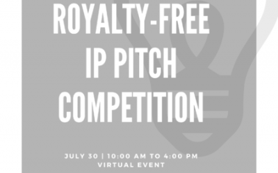 Royalty-free Intellectual Property Pitch Competition