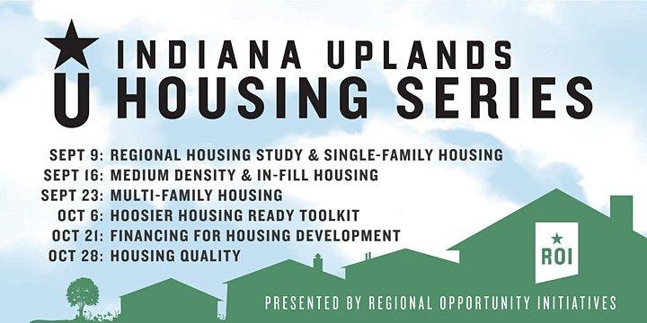 Indiana Uplands Housing Webinar Series